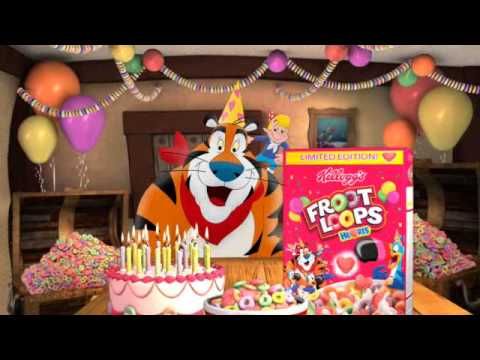 Happy Birthday Froot Loops Hearts Commercial Youtube