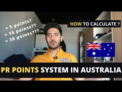 PR POINTS SYSTEM In AUSTRALIA | How To Calculate PR Points 2020 | Indian Students In Australia