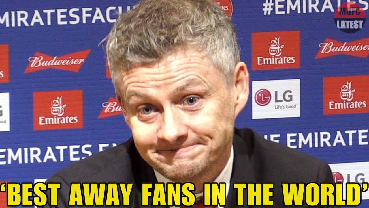 Solskjaer's Special Praise For Away Fans! | Ole Gunnar Praising Man Utd's Fans At Leicester!
