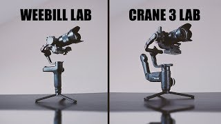 Zhiyun CRANE 3 LAB Vs WEEBILL LAB // Comparison