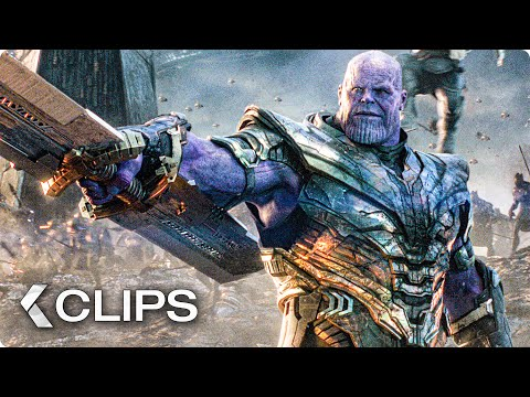 AVENGERS 4: Endgame All Clips (2019)