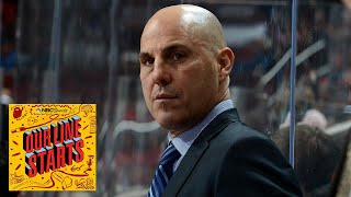 Coyotes head coach Rick Tocchet opens up about love for hockey | Our Line Starts | NBC Sports
