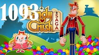 Candy Crush Saga Level 1093 No Booster