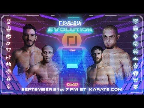 Karate Combat: Evolution - LIVE - September 21, 2019 7PM EST