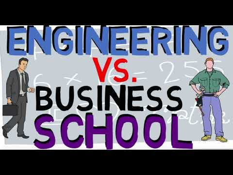 Should you major in Engineering or Business (Engineering vs Business)
