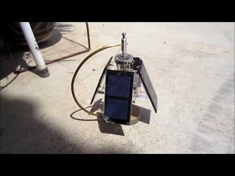 Free Energy Magnet Motor  100% Self Runing free electricity  solar powered, , no battery