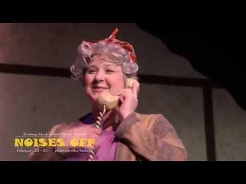 (BTS) Noises Off - Pitt State Theatre