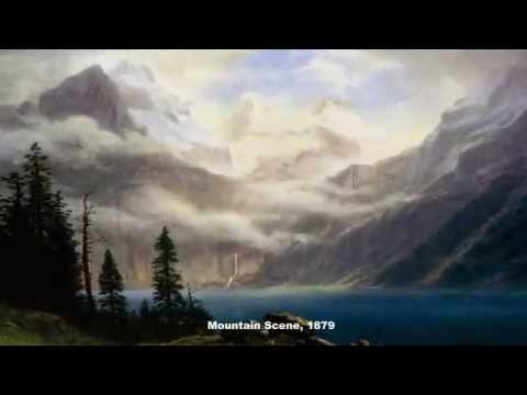 Famous Paintings of Albert Bierstadt A German-American Painter -  Landscapes of American West