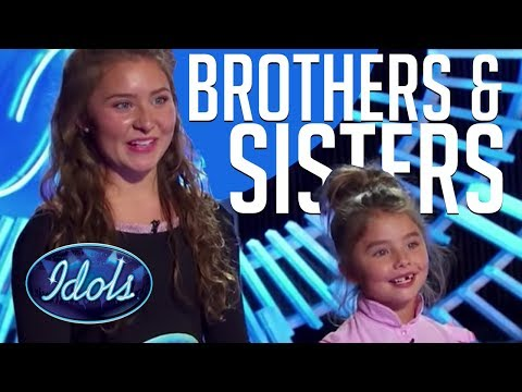 When Brothers & Sisters Audition On American Idol!