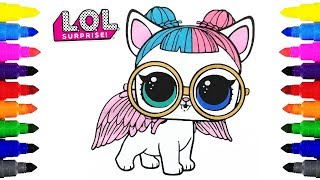 Lol Doll Coloring Pages Video Clip