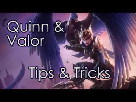 [Mẹo chơi Quinn] Cách sử dụng kỹ năng bay qua tường và truy đuổi
