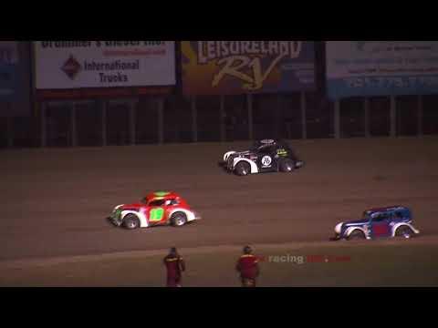 INEX Legend Car Crash   River Cities Speedway