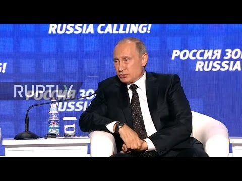 LIVE: Putin takes part in VTB's investment forum in Moscow