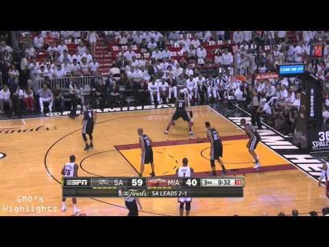 Spurs vs Heat: Game 4 Full Game Highlights 2014 NBA Finals - Spurs Dominate Again