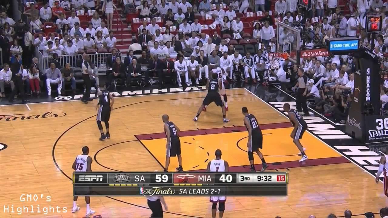 Spurs vs Heat: Game 4 Full Game Highlights 2014 NBA Finals ...