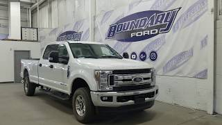 2018 Ford Super Duty F-250 SRW CrewCab XLT W/ 6.7L Power Stroke, Cloth Overview | Boundary Ford
