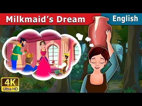Milkmaid's Dream Story in English   Bedtime Stories   English Fairy Tales