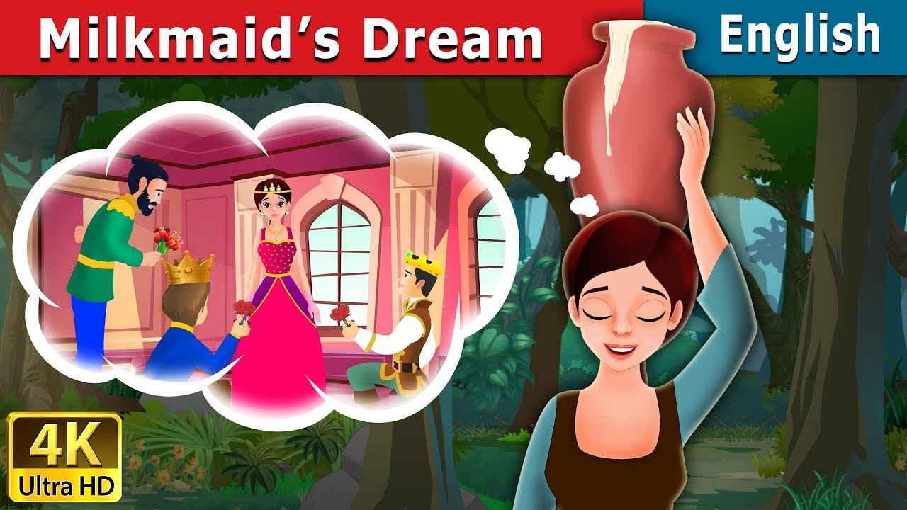 Download Milkmaid's Dream in English   Stories for Teenagers   English Fairy Tales