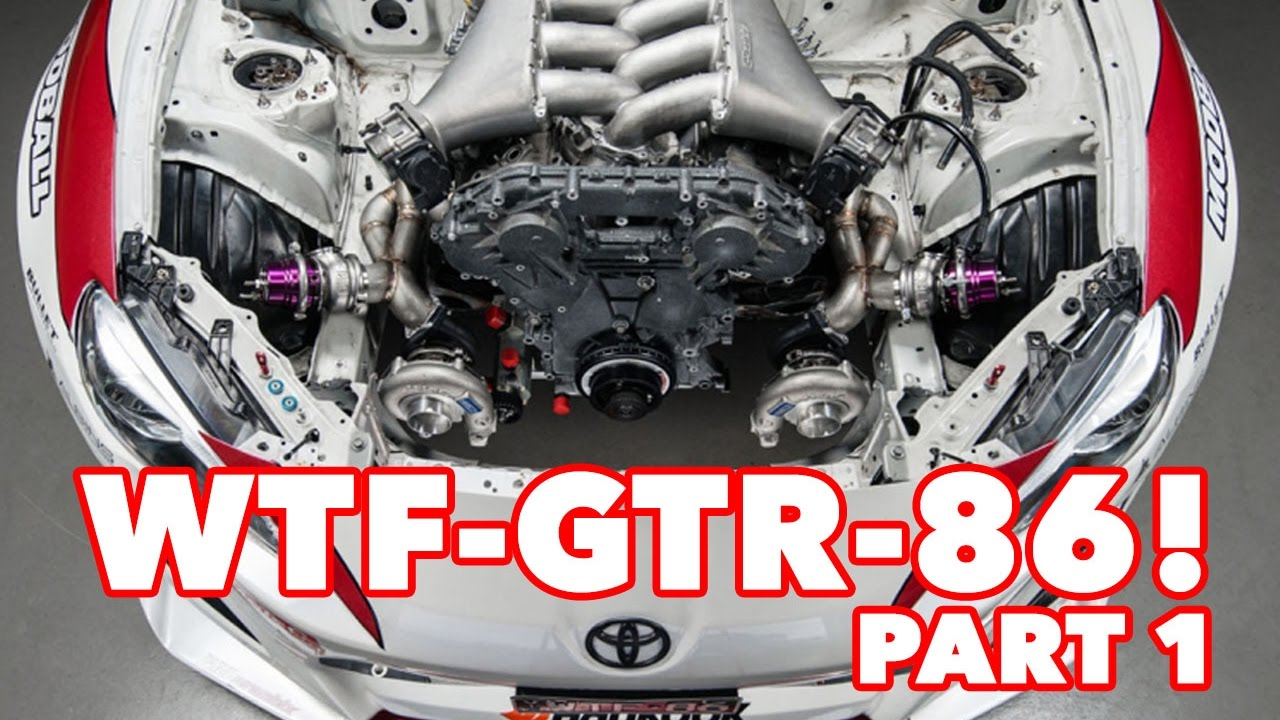 WTF86 - VR38 R35 GTR Engine into StreetFX Toyota 86 - Build Update 1!