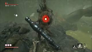 【SEKIRO】ボス「蛇の目シラハギ」かんたん攻略【隻狼 セキロ】 boss fight:snake eye  sirahagi