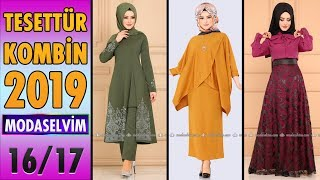 #Tesettür Kombinleri 2019 (#Modaselvim) 16/17 | #Hijab #Clothing | #Kombin #Elbise #Fashion #Combine