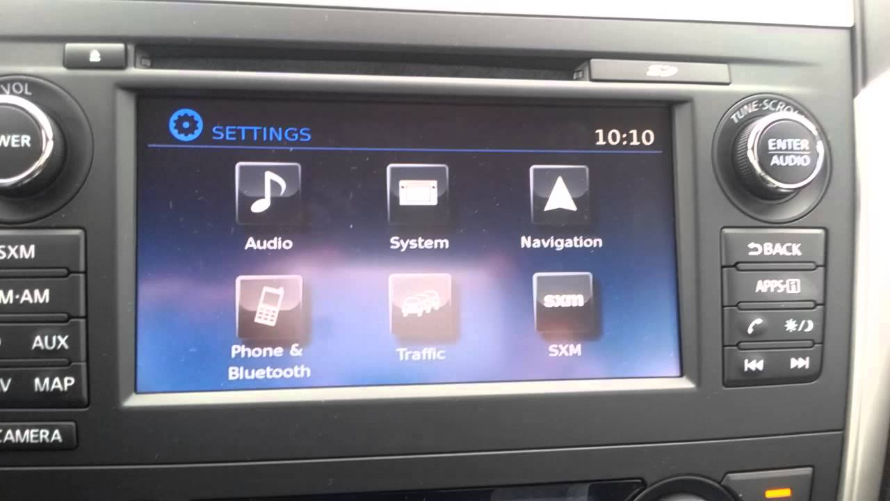 2016 Nissan Altima How To Connect Bluetooth