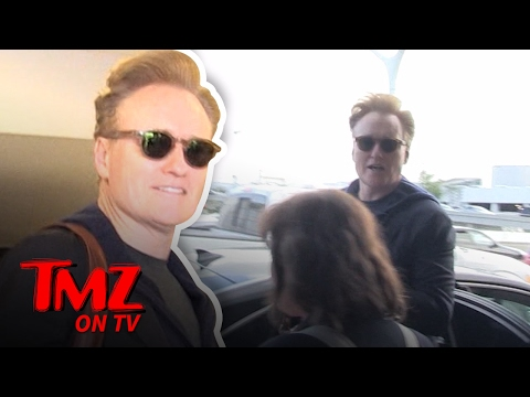 Conan O'Brien Sued For Allegedly Stealing Jokes!   TMZ TV