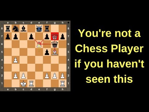 You're not a Chess Lover if You haven't seen this Fantastic Chess Game & Mind-blowing Moves