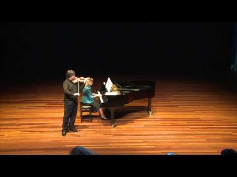 Liviu Prunaru plays Wieniawski: Souvenir de Moscou in Amsterdam