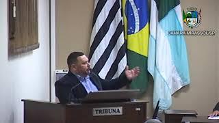 14ª Sessão Ordinária - Vereador Walmir Chaveiro