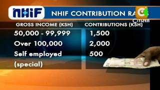 NHIF To Effect New Rates