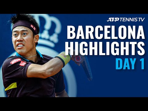 Nishikori vs Pella; Tsonga, Andujar & Chardy In Action   Barcelona Open 2021 Highlights Day 1