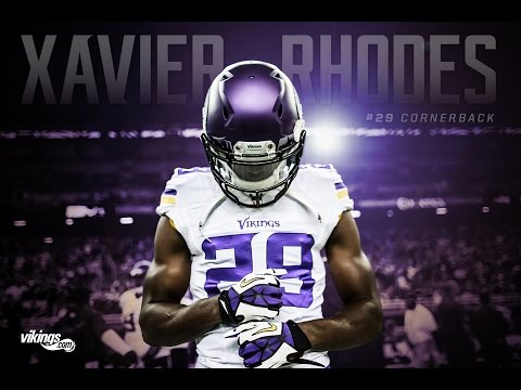 Xavier Rhodes 2016 Minnesota Vikings Highlights