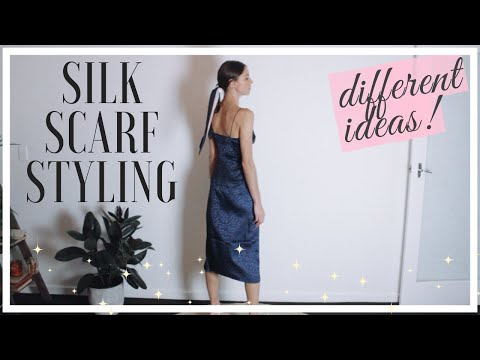 How To Wear Silk Scarves | Styling Tips & Outfit Ideas