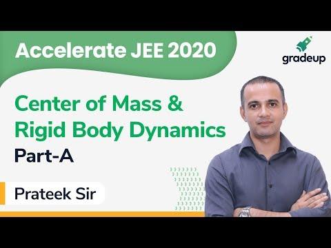 JEE 2020 | Class 35 | Physics | Center of Mass & Rigid Body Dynamics By Prateek Sir