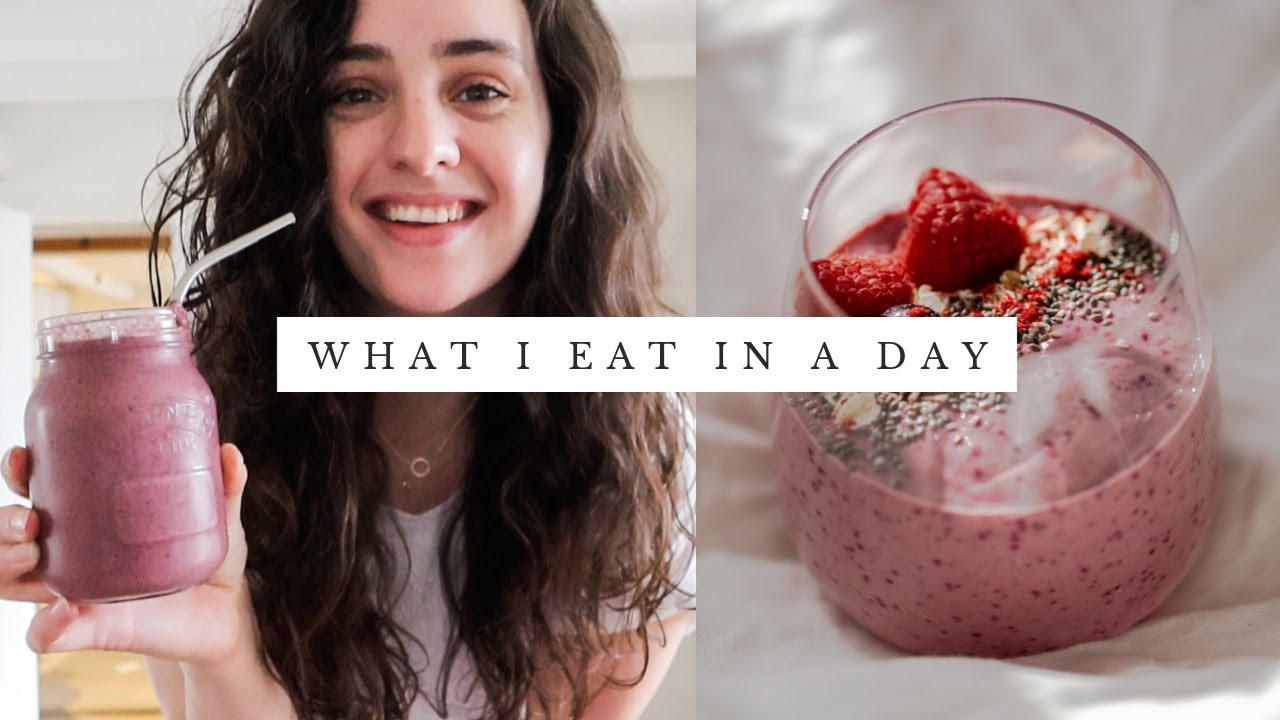 What I Eat In A Day   Vlogmas Day 7