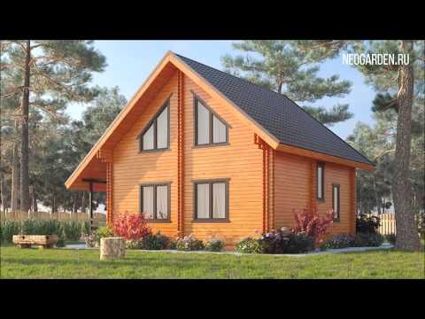 дома из двойного бруса, дома из бруса - Малоэтажное строительство домов из бруса и двойного мини бруса - 0