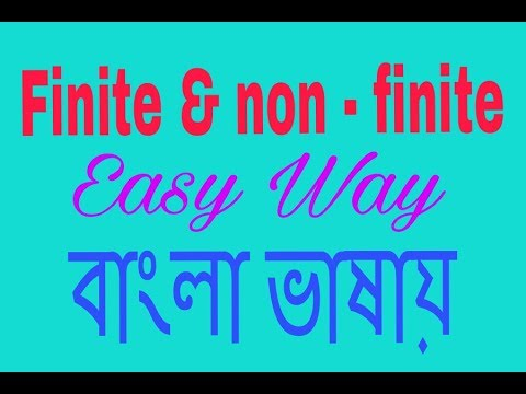 finite and nonfinite