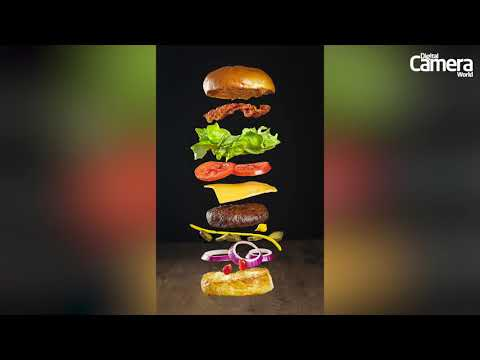 Create amazing flying food pictures