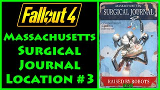 Fallout 4 - Massachusetts Surgical Journal - Med-Tek Research - 4K Ultra HD