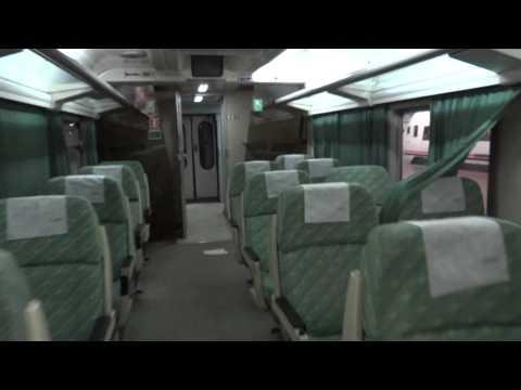 Renfe interior del ultimo Tren Costa Brava en Chamartín 07/4/2015.