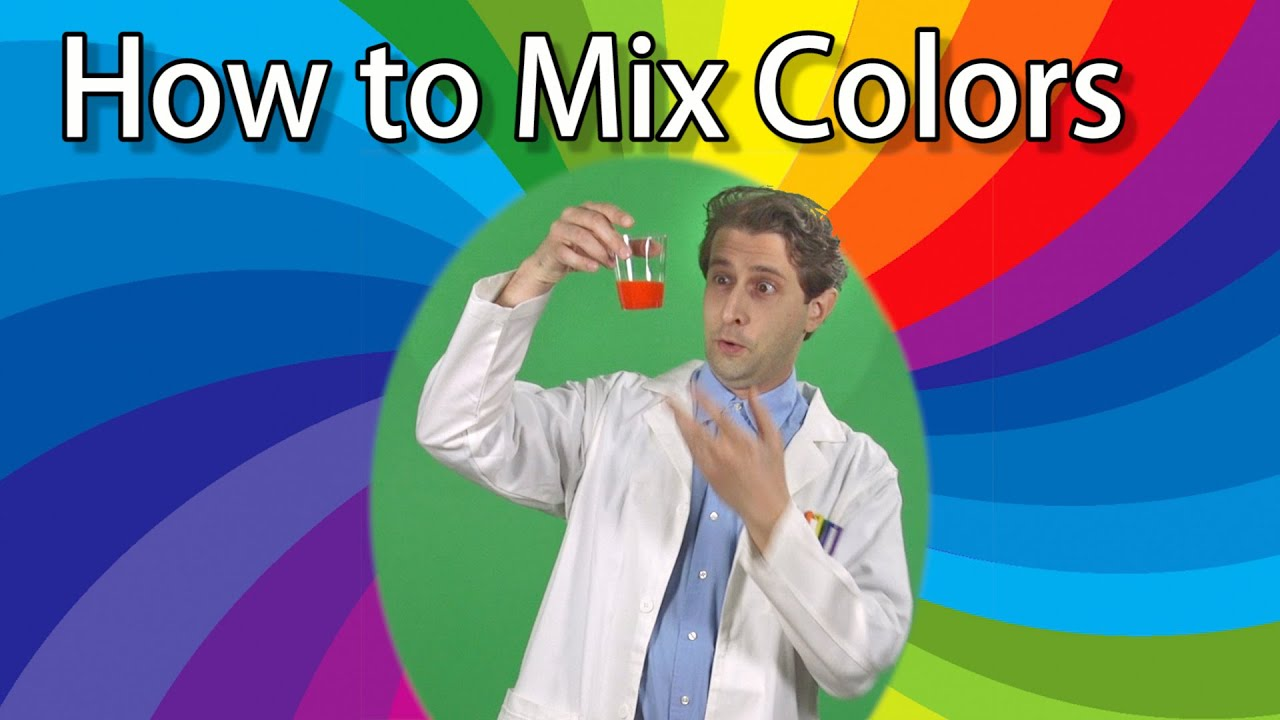 How to Mix 3 Colors to Make a Rainbow - Science Experiments for Kids ...