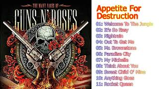 Appetite for Destruction guns n' roses full album