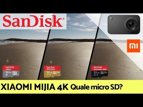 XIAOMI MIJIA 4K Test Schede MicroSD SanDisk QUALE UTILIZZARE?