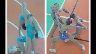 Чемпионат Перми по спортивной аэробике. Трио. 12–14 лет