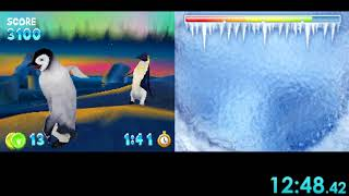 """[WR] """"Happy Feet"""" (DS): any% in 1:00:35"""