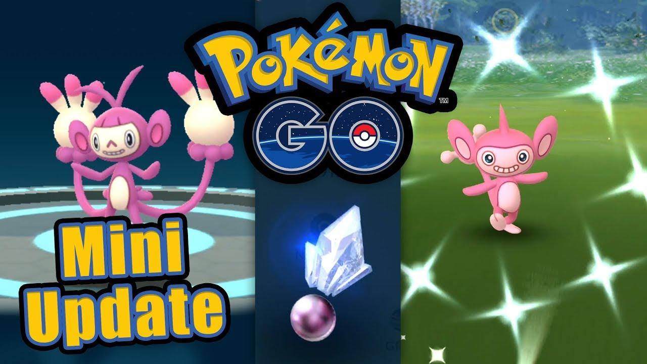 Mini-Update, Shiny-Ambidiffel, Glück nimmt kein Ende | Pokémon GO Deutsch #1001 thumbnail