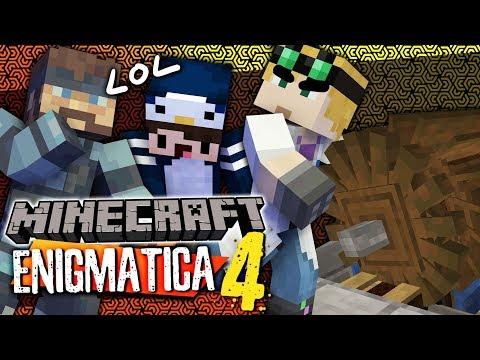 Minecraft Enigmatica 4 - WATER WHEEL CONVEYOR BELTS #23