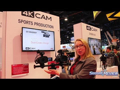 CES 2018 | JVC Pro & Broadcasting 4K Camcorders | Sports TV Production Camcorder