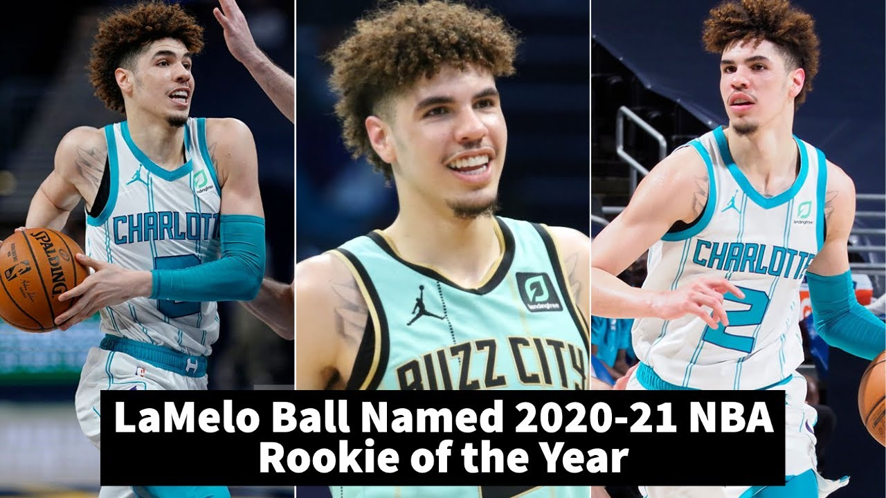 Hornets' LaMelo Ball voted NBA Rookie of the Year